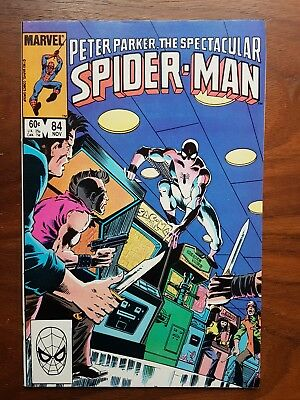 Marvel comics Peter Parker Spectacular Spiderman 84