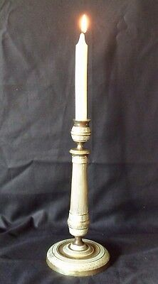 Early 19th Century French Empire Gilt Bronze Candlestick