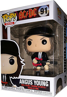 Toys - Pop ! - Funko - Rock - Ac/dc - Angus Young N°91