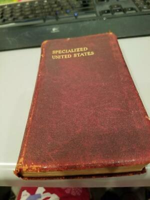 Scott's Specialized Catalogue of the  United States  4th edition 1927