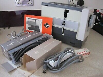 Vintage Diamator 150 Agfa Slide Projector,complete And Unused And Boxed