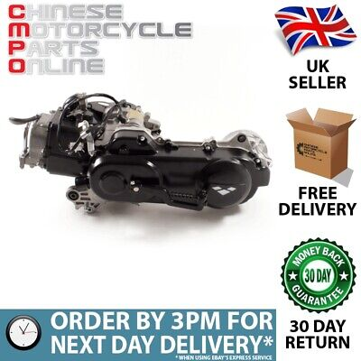 50cc Scooter Engine 139QMB with 430mm Case, Long Shaft (ENG004)