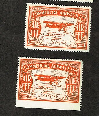 Canada Semi-Official Airmail Cl50 Vf Mh X2   (Cem4,5