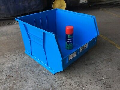 BLUE Size 10 Linbins £6 Postage For Any Amount Storage Box industrial workshop