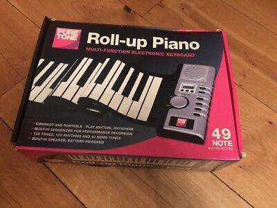 PURE TONE Roll-Up Piano Multi-Function Electronic Midi Keyboard Boxed  - Y99