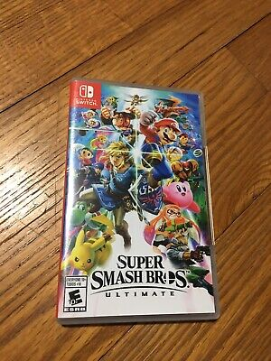 [NEW-OTHER] Super Smash Bros Ultimate for the Nintendo Switch 2018