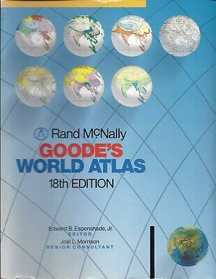 Rand McNally - Goode's World Atlas - 18th Edition (Paperback)