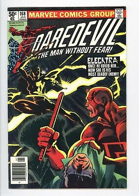 Daredevil #168 Vol 1 Super High Grade 1st Appearance of Elecktra