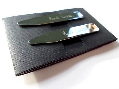 PAUL SMITH Engraved Collar Stiffeners NEW RRP £45