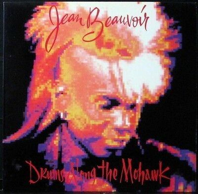 JEAN BEAUVOIR 'Drums Along The Mohawk' NM Never played 1986 1st press Promo LP