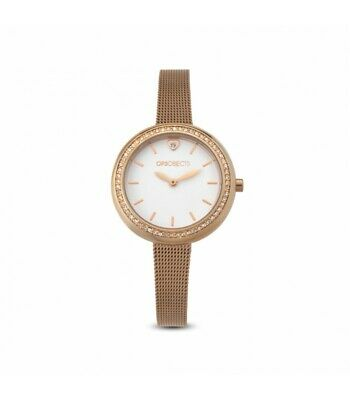 Ops  Orologio Donna Charme White Mesh Rose Gold OPSPW-573 ORIGINALE