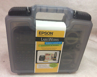 Epson LW-400 LabelWorks Portable Label Maker Kit For Home Safety & Visibility