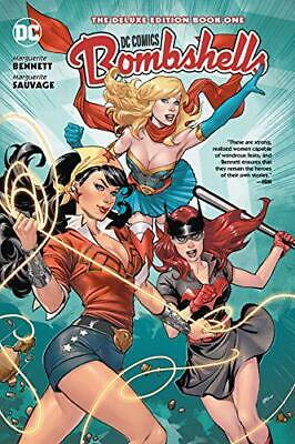 DC Bombshells: The Deluxe Edition Book One: 1 (Dc Comics) by Marguerite Sauvage,