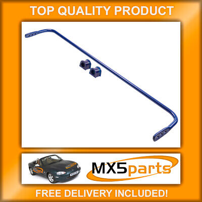 MX5 Superpro Adjustable Rear Anti Roll Bar + Bushes Mazda MX-5 Mk2 NB 1998>2005