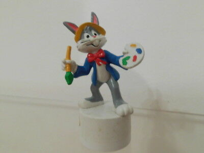 Bugs Bunny Looney Tunes Bully Figur 1983 Anspitzer ca. 8 cm: als Maler