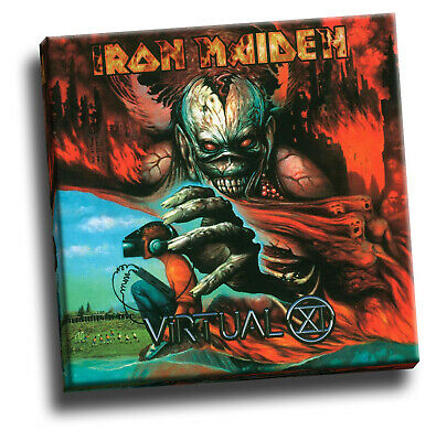 Iron Maiden Seventh Son Of A Seventh Son Giclee Canvas Album Cover Picture Art