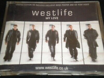 Westlife - My Love - CD Single - Limited Edition - 2000 - Good Condition