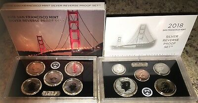 2018-S  US Mint Silver Reverse Proof Set - 50th Anniversary -  Sold Out!