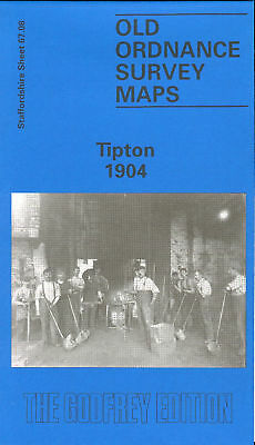 Old Ordnance Survey Map Tipton 1904