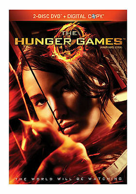 The Hunger Games (DVD, 2012, 2-Disc Set) NO SCRATCHES