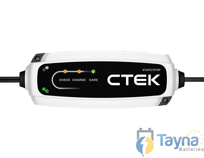 CTEK CT5 Start Stop 12V 3.8A Batterij Charger 40-106