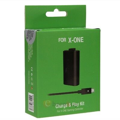 Rechargeable Battery Pack & Charging Cable Play and Charge Kit For Xbox One