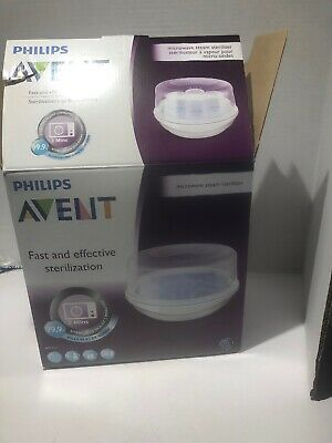 Philips AVENT Microwave Steam Sterilizer for Baby Bottles ~ Used