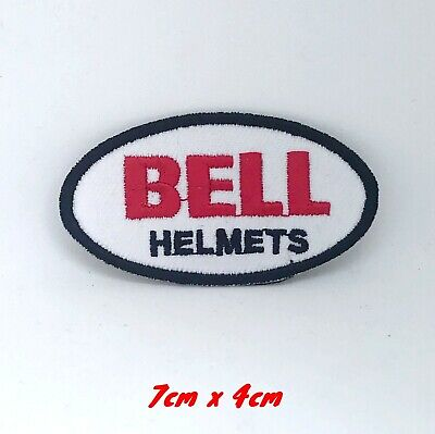 3e726781 Bell Helmet Motorcycles Racing Biker Embroidered Iron/Sew-on Patch logo #201