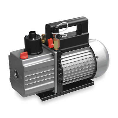 DAYTON 2VKY3 Vacuum Pump 115 VAC Refrigeration Evacuation Pump, 3.0 cfm, 6 ft.
