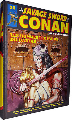 Comics - Hachette - Savage Sword Of Conan T.30 : Les Hommes-Leopards Du Darfar