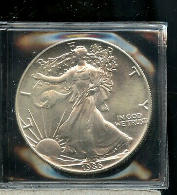 Uncirculated 1986 United States American Eagle Silver One Dollar DE113