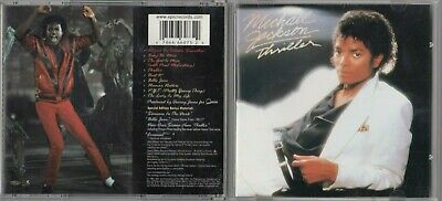 Michael Jackson - Thriller [Special Edition] [Remaster] (CD, Oct-2001) GOLD CD