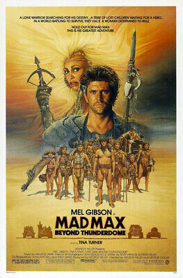 Mad Max Beyond Thunderdome (1985) original movie poster - single-sided - rolled
