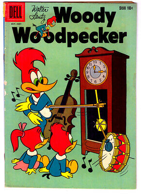 Walter Lantz WOODY WOODPECKER #51 in VG/FN condition  DELL 1958 Golden Age comic
