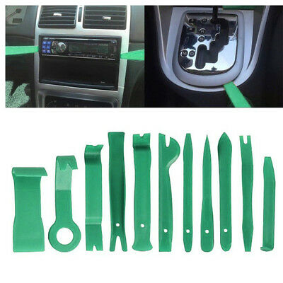 11x Car Body Auto Door Panel Console Dashboard Trim Removal Plastic Tool Set Kit