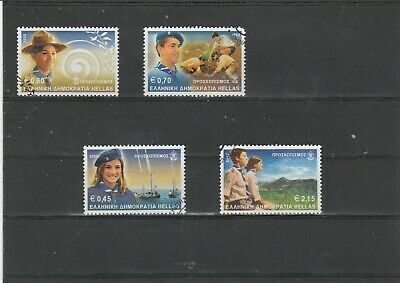Greece Used Set  Euro     Stamps 2002