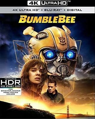 Bumblebee 4K UHD DISK ONLY presale April 2nd release transformers (disk is new)