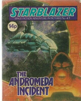 The Andromeda Incident,starblazer Space Fiction Adventure In Pictures,comic,47