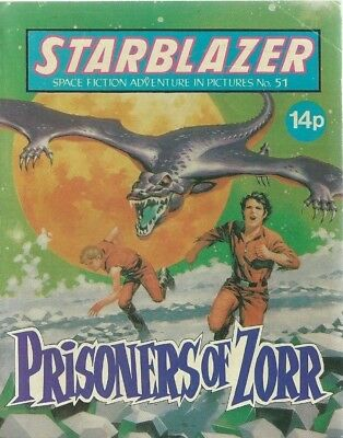 Prisoners Of Zorr,starblazer Space Fiction Adventure In Pictures,comic,no.51