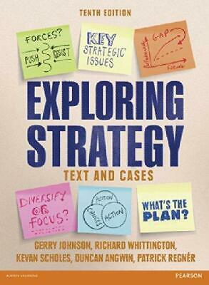 Exploring Strategy Text & Cases, Very Good Condition Book, Regnér, Patrick, Angw