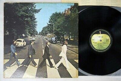 BEATLES ABBEY ROAD APPLE AP-8815 Japan VINYL LP