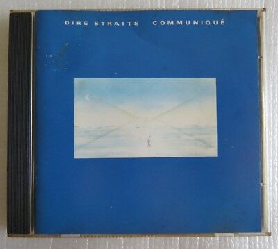 DIRE STRAITS COMMUNIQUE CD MADE IN BRAZIL 1st PRESSING 1989 WITHOUT BARCODE