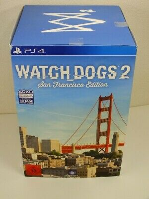 !!! PLAYSTATION PS4 SPIEL Watch Dogs 2 San Francisco Edition USK18 GUT !!!