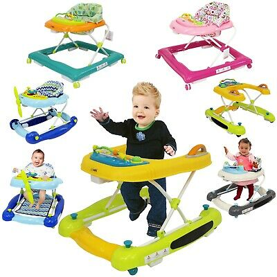 iSafe Playtime Baby Walker 2in1 3in1 Rock Push Learn & Play With Lights & Sound