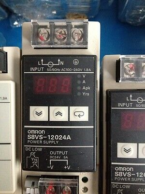 OMRON switching power supply S8VS-12024A New