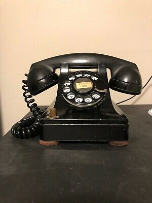 Western Electric 305 Rotary Desk Telephone