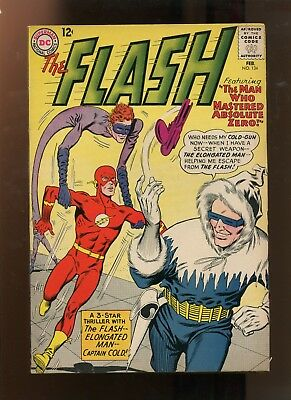 "The Flash #134 (7.0) ""elongated Man And Captain Cold"""