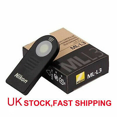 UK Nikon ML-L3 IR Wireless Remote Control Shutter Release For Nikon DSLR Camera