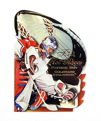 1996-97 Flair Hot Gloves Patrick Roy #10 Avalanche Mint