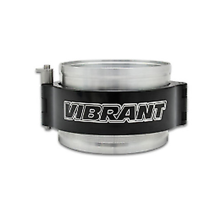 """Vibrant Performance HD Clamp Assembly for 3"""" OD Tubing - BLACK- 12516"""